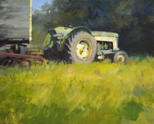 Resting Tractor